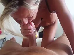 5 min - Good mom blow job