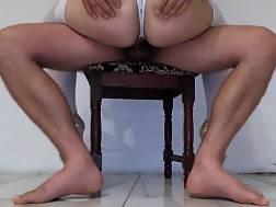 8 min - Hot nymph white stockings