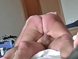 Mature in silk panties