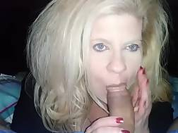 13 min - Blond wife knees giving