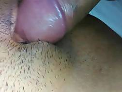4 min - Pecker penetrating shaved cunt
