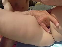 4 min - Amateur couple liking the beach and drilling