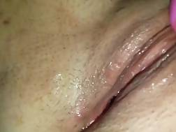 Closeup of dripping vagina video