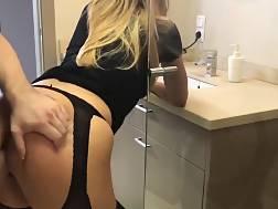 11 min - Classy black stockings perfect