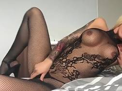 9 min - putting body stockings solo