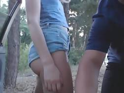 15 min - Amateur blondie tight jeans