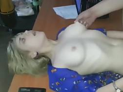 7 min - Young light haired secretary gets fucked by her boss