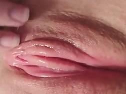 2 min - Touching closeup sloppy snatch