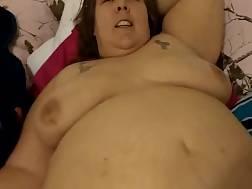 8 min - Big fat milf spreads