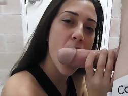 16 min - Nasty facial cute girl