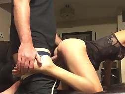 7 min - Sexy girlie loves To Get Slammed In A Doggy On Her couch
