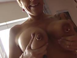 13 min - Sexual German mamma With Pierced nips Rides My cock
