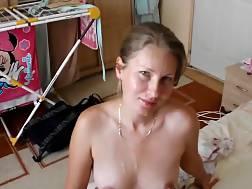 1 min - Sappy facial nasty blonde