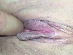 1 min - Tight shaved cunt fingered
