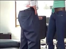1 min - Sexy new secretary gives me a sexy sucks at the office