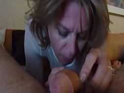 2 min - Wifey blow stiff penis
