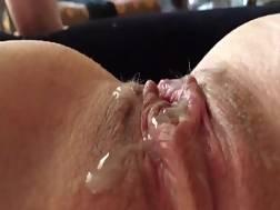 1 min - Wife looks cover vagina