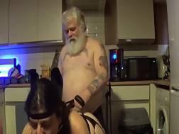 11 min - Tattooed santa bangs mature
