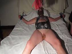 4 min - Shes bad girl punished