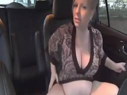 12 min - pregnant blonde mom puts