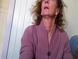Granny jacking off her clit ready help