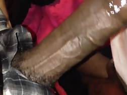 3 min - Young black babe blowing