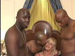 can gangbang black suck cock and anal and have