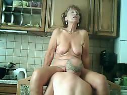 15 min - Nasty mature grandma