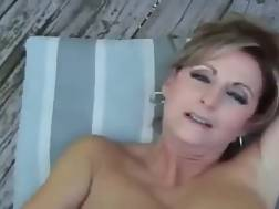 3 min - Mom cumshot good hooters
