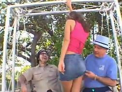 Sexy dominican republic woman ass