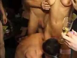 61 min - german amateur orgy house