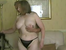 4 min - Mature bbw wife foreplay