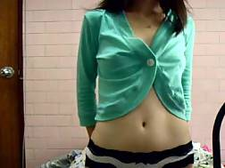 3 min - asian college girlie solo