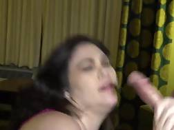 3 min - Wife blowjob young bull