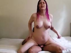 12 min - Tattooed hotty satisfies huge