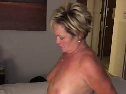 1 min - Husband watches mature wife