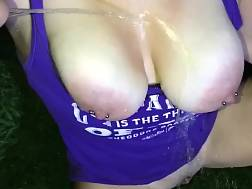 1 min - Getting outdoors breasts pussy