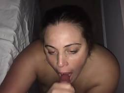 3 min - Housewife blowing cock thick